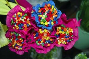 Bloemen knutselen peuters