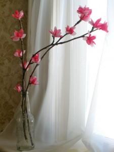 Bloemen knutselen van papier