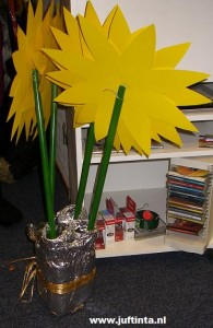Bos bloemen knutselen